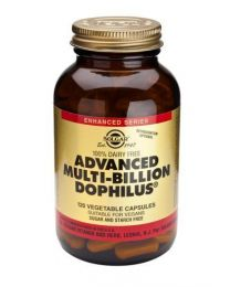 Solgar Advanced Multi-Billion Dophilus - 120 Vegetable Capsules