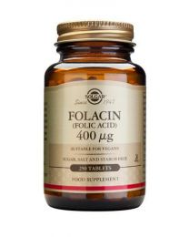 Solgar Folacin 400 G (Folic Acid) - 250 Tablets