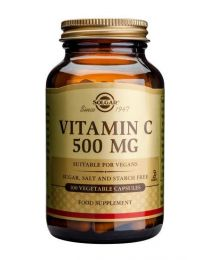 Solgar Vitamin C 500 Mg - 100 Vegetable Capsules