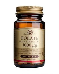 Solgar Folate 1000 G (As Metafolin) - 60 Tablets