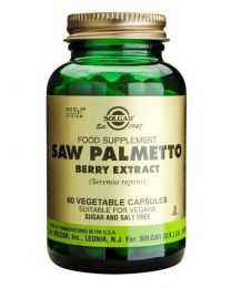 Solgar Saw Palmetto Berry Extract - 60 Vegetable Capsules