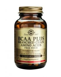 Solgar Bcaa Plus - 50 Vegetable Capsules