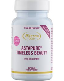 Higher Nature Terna Gold Astapure Timeless Beauty - 30 Capsules