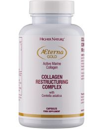 Higher Nature Terna Gold Collagen Restructuring Complex - 90 Capsules
