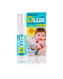 BetterYou Dlux infant Vitamin D Oral Spray - 15ml Liquid