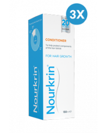 Nourkrin Conditioner Triple Pack - 450ml Liquid