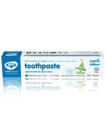 Green People Organic Children Spearmint Toothpaste - 50ml Pack