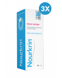 Nourkrin Scalp Lotion Triple Pack - 225ml Liquid
