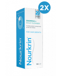 Nourkrin Shampoo Double Pack - 300ml Liquid