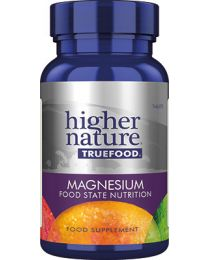 Higher Nature True Food Magnesium - 30 Tablets