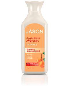 Jason Organic Apricot Shampoo - 480ml Liquid