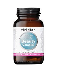 Viridian Ultimate Beauty Complex - 30 Vegetable Capsules