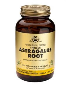 Solgar Chinese Astragalus Root - 100 Vegetable Capsules