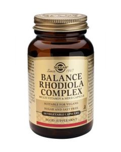 Solgar Balance Rhodiola Complex - 60 Vegetable Capsules - Speciality Supplements