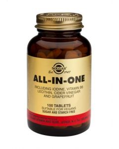 Solgar All-In-One - 100 Tablets