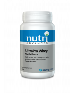 Nutri Advanced UltraPro Whey (Vanilla) - 518g Vegetable Powder