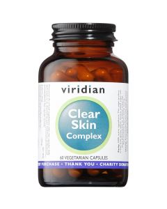 Viridian Clear Skin Complex - 60 Vegetable Capsules - Speciality Supplements