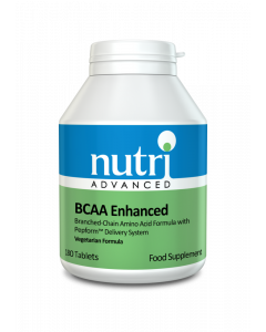 Nutri Advanced Bcaa Enhanced - 180 Vegetable Tablets