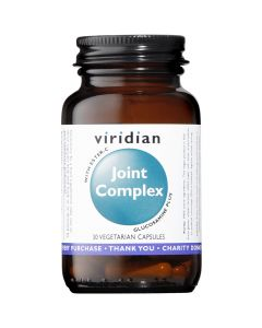 Viridian Joint Complex - 30 Vegetable Capsules - Joints and Bones