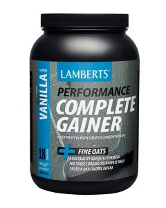 Lamberts Weight Gain Vanilla Flavour - 1816g Powder
