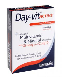 Health Aid Day-Vit Active Blister - 30 Tablets