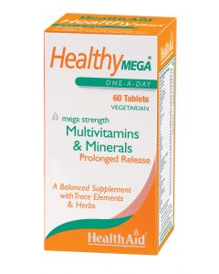 Health Aid Healthy Mega - Prolonged Release - 60 Tablets