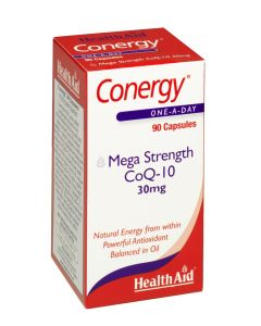 Health Aid Conergy Coq-10 30Mg - 90 Capsules