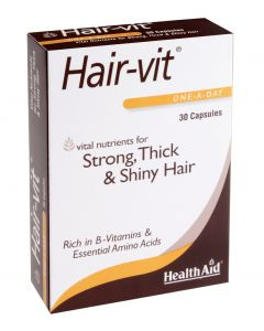 Health Aid Hair-Vit  - 30 Capsules