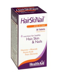 Health Aid Hair, Skin & Nail Formula - 30 Tablets
