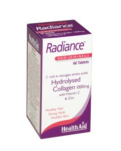 Health Aid Radiance (Hydrolysed Collagen 1000Mg With Vit C) - 60 Tablets