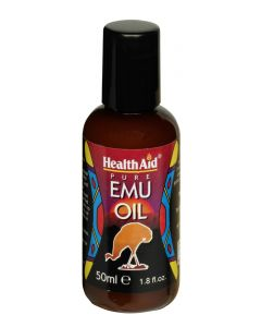 Health Aid Pure Emu Oil - 50ml Liquid - Joints and Bones