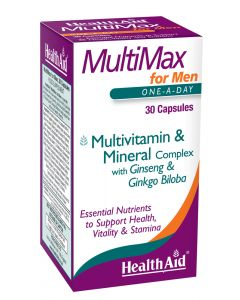 Health Aid Multimax - 30 Capsules - Speciality Supplements