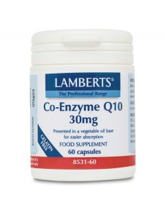 Lamberts Co-Enzyme Q10 30Mg - 60 Capsules