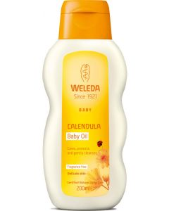 Weleda Calendula Oil (Unfragranced) - 200ml Liquid - Mother, Baby & Kids