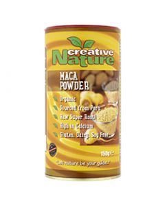 Creative Nature Organic Macaroot Powder (Peruvian) - 150g Powder - Superfoods