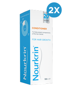 Nourkrin Conditioner Double Pack - 300ml Liquid