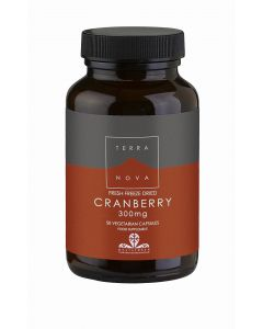 Terranova Cranberry 300Mg - 50 Vegetable Capsules