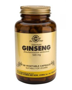 Solgar Siberian Ginseng 520 Mg - 100 Vegetable Capsules