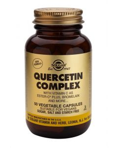Solgar Quercetin Complex - 50 Vegetable Capsules - Speciality Supplements