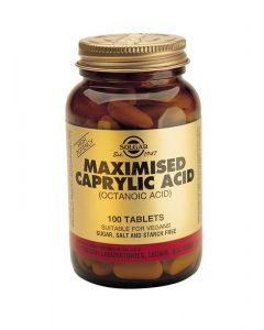 Solgar Maximised Caprylic Acid - 100 Tablets - Speciality Supplements