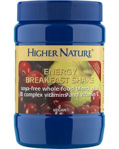 Higher Nature Energy Breakfast Shake - 270g Powder - Speciality and Practitioner Range