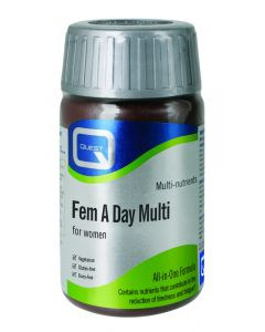 Quest Essentials Fem A Day Multi - 60 Tablets