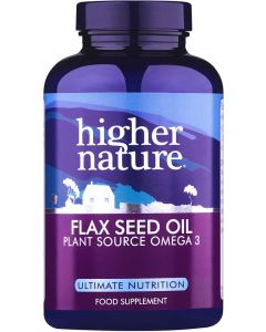Higher Nature Flax Seed Oil - 60 Capsules