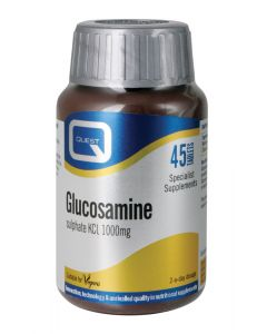 Quest Essentials Glucosamine Sulphate Kci 1000Mg - 45 Tablets