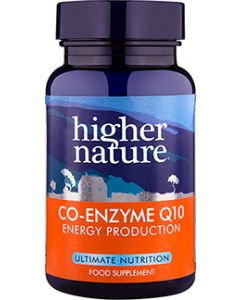 Higher Nature Co-Enzyme Q10 - 90 Tablets