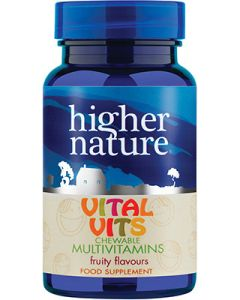 Higher Nature Kids Vital Vits - 90 Chewable Tablets