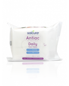 Salcura Antiac Daily Face Wipes - 25Wipes Pack