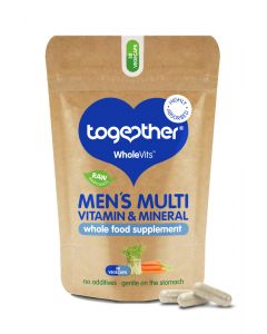 Together Wholevit Men Multivitamin & Mineral Food Supplement - 30 Capsules