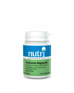 Nutri Advanced Curcumin Megasorb Vegan Tablets