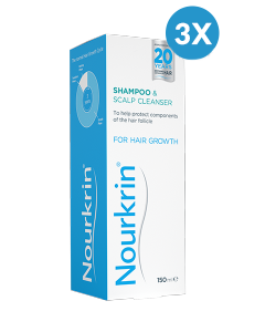Nourkrin Shampoo Triple Pack - 450ml Liquid